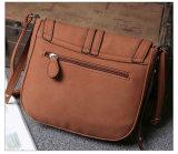 Senhora moda Saco a tiracolo em pele de PU Messenger Bag (WDL Lazer0950)
