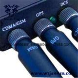 携帯用GPSの携帯電話のシグナルの妨害機(10メートルの範囲)
