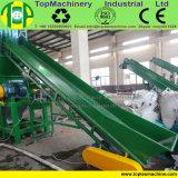 Plástico da fábrica que esmaga a planta de recicl tecida equipamento de lavagem do saco