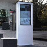D'écran LCD imperméable à l'eau de 55 '' kiosque extérieur de totem d'étage Digitals de stand