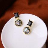 Accesorios de moda mujer pendiente de cristal Joyas de boda