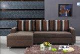フォールドのソファーベッドが付いている機能ファブリック部門別のソファー