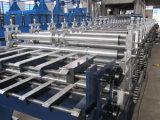Doppelte Schicht Ibr trapezoides Metallaluminiumdach-Rolle, die Maschine bildet