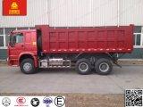 HOWO 6X4 371HPのダンプカートラック18cbm 30-35tonのダンプトラック