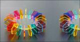 Laser die Scherpe Machine voor het Acryl/Leer van de Doek/Houten Raad graveert