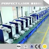 marcador plástico de alumínio do laser da fibra do aço de carbono do aço inoxidável de 10W 20W 30W