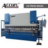 Freno idraulico della pressa del freno MB8-63t/2500 Delem Da-66t (asse di CNC del nuovo macchinario di Accurl 2014 di Y1+Y2+X+R)