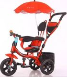 Preiswertes Baby-DreiradTrike Kind-Dreirad mit Stoss-Stab
