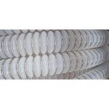 Faible coût en plastique durable tube ondulé transparent en Téflon PTFE