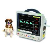 Vétérinaire clinique pour animaux de compagnie de plusieurs paramètres du moniteur patient