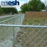 50mmx50mm Kurbelgehäuse-Belüftung beschichteter galvanisierter Kettenlink-Zaun für Schutz
