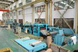 línea de maquinaria de cizallamiento de seguimiento automático de bobinas de acero, de la bobina de aluminio...