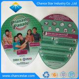Kundenspezifisches Firmenzeichen gedruckter Handventilator des Plastikpp.