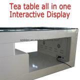 43, Screen-Bildschirmanzeige-intelligenter Kaffee 55 Zoll-interaktiven BekanntmachensLCD multi/Stab-Tisch