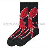 Soem-Tier-Entwurf gekämmte Baumwollkind-Socke