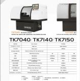 CNC 단 하나 최후 수평한 정밀한 무료한 기계 (TK7040)