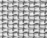 Quadratischer dekorativer Edelstahl gesponnener quetschverbundener Maschendraht