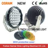 Marché aboutissant la lumière pilotante d'endroit d'Osram 168W 8.7inch DEL (GT1015-168W)