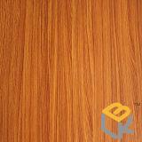 Het houten Decoratieve Melamine Doordrongen Document van de Korrel voor Vernisje, Vloer en Meubilair van Chinese Fabrikant