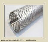 Pipe perforée d'acier inoxydable d'échappement de silencieux de Ss409 76*1.2 millimètre