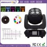 Bewegliches des Kopf-60W Stadiums-Licht Trägerfresnel-des Objektiv-LED