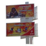 La energía solar de publicidad exterior vallas Double-Side personalizado