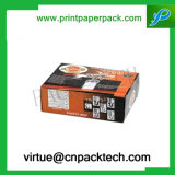 Patins de glace estampés par logo fait sur commande empaquetant les cadres de papier de carton