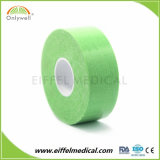 緑2.5cm x 5mカラー使用できるKinesiology療法テープISOのセリウムのFDA