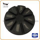 4'' d'outils métalliques des plaquettes de polissage de béton pour le polissage machine/polissage de plancher