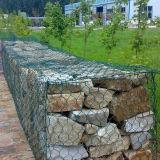 Cesta de Gabion do fio de Galfan da alta qualidade