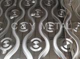 Salable decorativo 304 Hoja de acero inoxidable, espejo con múltiples patrón láser