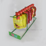 Einkaufszentrencountertops-Metalldraht-Erscheinen-Fruchtgelee-Regal trinkt Zahnstange