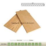 Échantillon de Tiga Bamboo WPC Decking de plein air