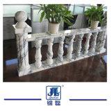 Colonna di marmo naturale della colonna della pietra della colonna della colonna di asta della ringhiera del granito per la decorazione/costruzione dell'interno/esterne della scala