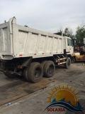 يستعمل نيسّان [دومب تروك] [10ترس] يميل شاحنة 7 طن شاحنة