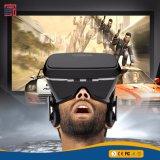 Vetri della cuffia avricolare 3D Vr di realtà virtuale di Vr Shinecon della nuova generazione per 4~6 pollici Smartphones per i film 3D ed il gioco con il regolatore