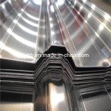 Hoja de impermeabilización de cubiertas de acero corrugado Aluzinc