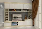 Folheado de madeira sólida unidade de TV para casa
