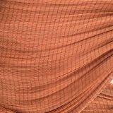 상기의 브라운 색깔 15m를 가진 폴리에스테 절단 Piese