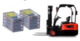 Hochenergie-Lithium-Batterie-Satz für Agv