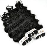 Brasilianische tiefe Wellen-unverarbeitetes Jungfrau-Haar für Salon (Grad 9A)