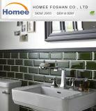Un estilo moderno cuarto de baño de cristal de color gris oscuro mosaico de vidrio