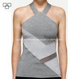 2017 Venta caliente superior de la cosecha de diseño de moda para damas, Personalizado Camiseta sin mangas de Fitness para Mujeres Tank Top