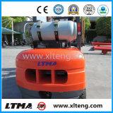 LPG&Gasoline Doppel-Kraftstoff Gabelstapler 4 Tonnen-Gabelstapler mit 3-6 M der anhebenden Höhe