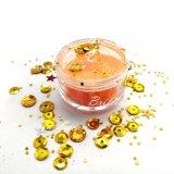 Leuchtendes purpurrotes Farben-Kosmetik-Form-Funkeln-Puder für Karosserie/Nagel/Augenschminke