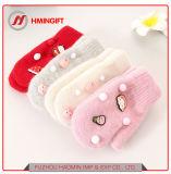 Зимние новых студентов волос ручной работы шарик имитация заяц мешок для волос относится к теплой перчатки тканью практикум детей холодной перчатки