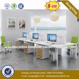 Noir et blanc et mobilier au design moderne de couleur chêne Office Desk (UL-MFC563)