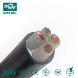 3 Core 95mm 0,6 /1 kv de cuivre isolés de PVC blindés Câble d'alimentation souterraine de 120 mm