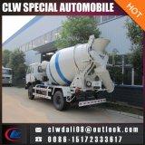 Camion de mélangeur concret de 4*2 LHD, petit camion de mélangeur concret de Chine à vendre