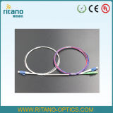 1X2 de Optische Koppelingen van de Vezel van LC/PC, Ruw gemaakte 0.9mm Beklede Vezel